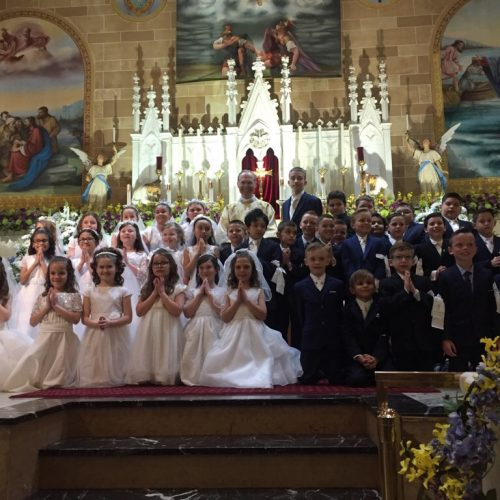 First Holy Communion at our school
